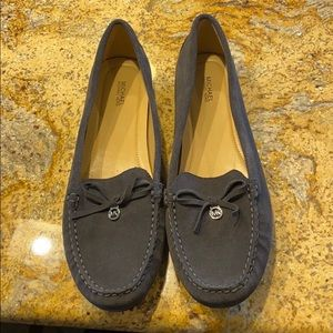 michael Kors size 11 never worn suede loafers